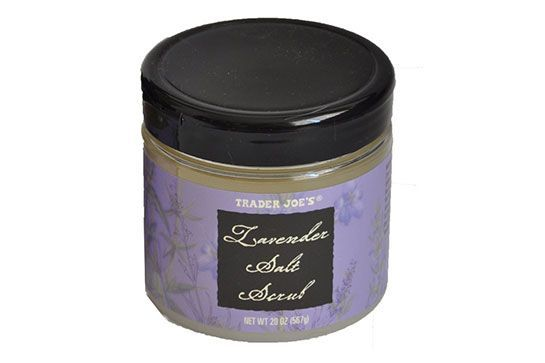This heavenly, scented salt scrub works double-duty to exfoliate and condition. Plus, at $6 a pop, we know we'll be having a lot more at-home spa days. Trader Joe's Lavender Salt Scrub, $5.99, available at Trader Joe's locations. #refinery29 http://www.refinery29.com/best-trader-joes-beauty-products#slide-2