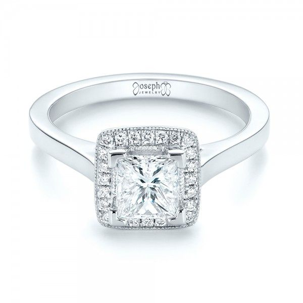 84 best Princess Cut Engagement Rings images on Pinterest