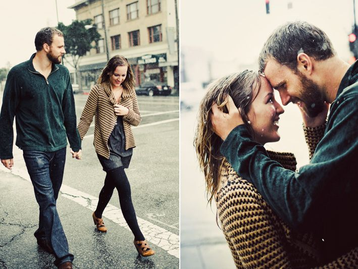 I'd love to do a rain engagement session