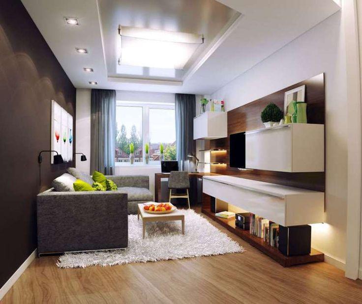 45 Salas Pequenas E Inspirações Para Decorar. Small Living Room DesignsSmall  ...