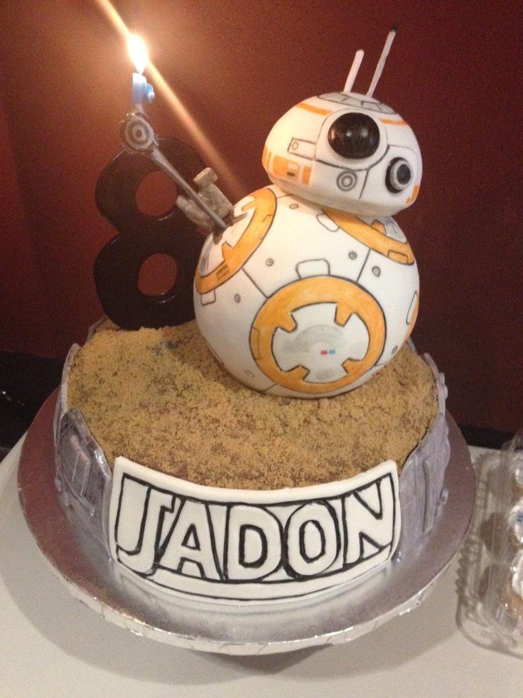 Star Wars: The Force Awakens BB-8 Cake - Album on Imgur