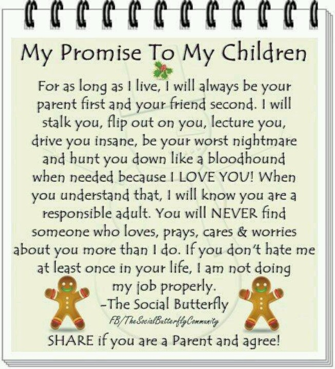 My Children Quotes: My Promise To My Children