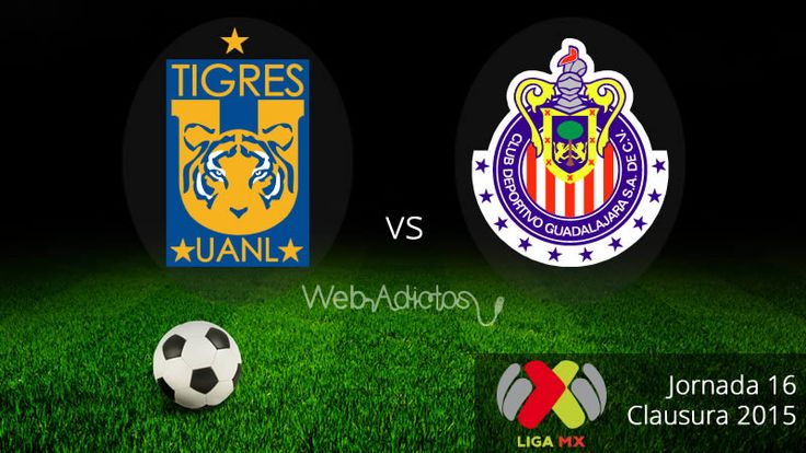 Tigres vs Chivas en el Clausura 2015 ¡En vivo! - http://webadictos.com/2015/05/02/tigres-vs-chivas-clausura-2015/?utm_source=PN&utm_medium=Pinterest&utm_campaign=PN%2Bposts