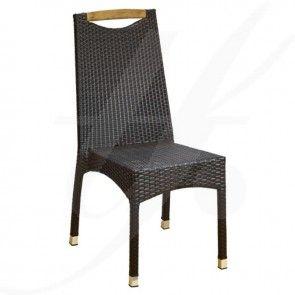 LOFT, fara brate - scaun terasa ratan sintetic Colectia TRENDfurniture
