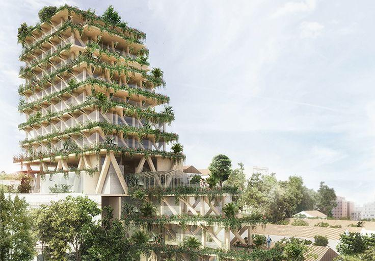 Conhecida como cidade do concreto, São Paulo ficará um pouco mais verde. Isso porque ela vai receber um edifício floresta com sua estrutura totalmente feita em madeira certificada, com garantia de origem e trajetória.O projeto, que deve ficar pronto em 2020, será erguido em um terreno de 1.025 m² no