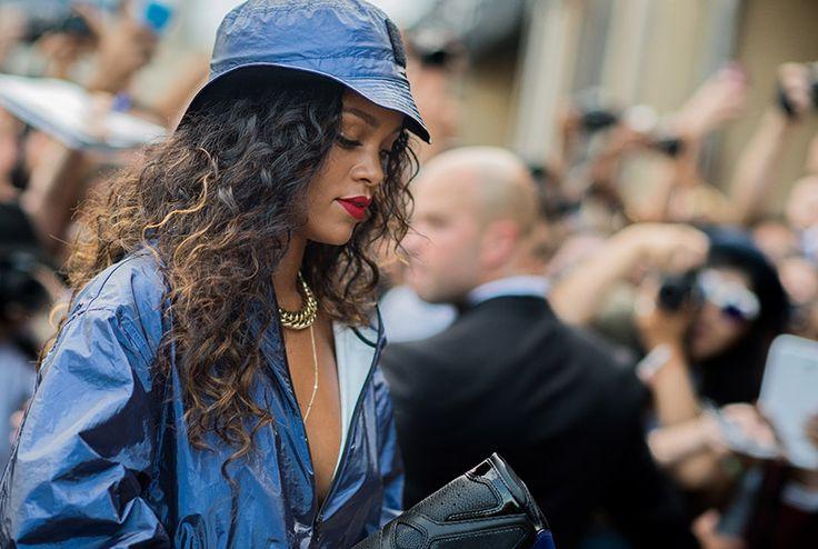 Rihanna Street Style Fashion Week Spring 2015 - NYFW Street Style Photos - Marie Claire