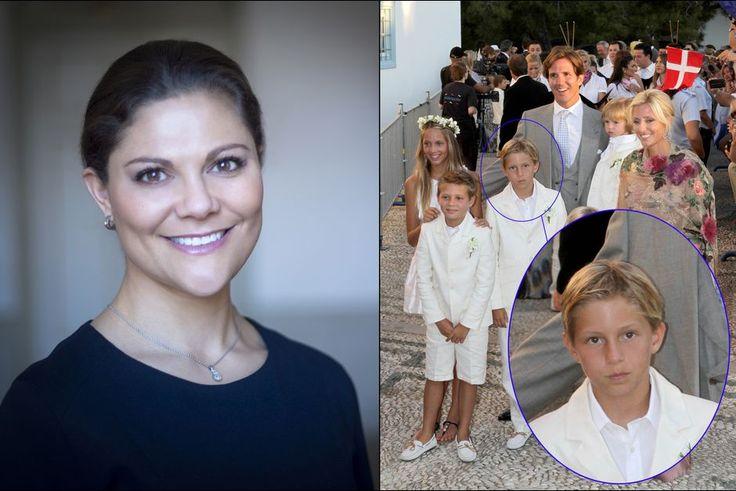 VICTORIA DE SUÈDE, LA REINE DES MARRAINES   Le prince Konstantínos de Grèce, fils du diadoque Pávlos et de Marie-Chantal Miller