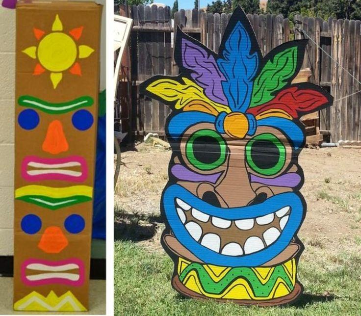 Bricolage totem Koh Lanta des idées simples et