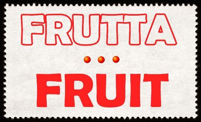 Imparare l'inglese: LA FRUTTA. Per leggere l'articolo apri l'immagine e clicca sulla foto