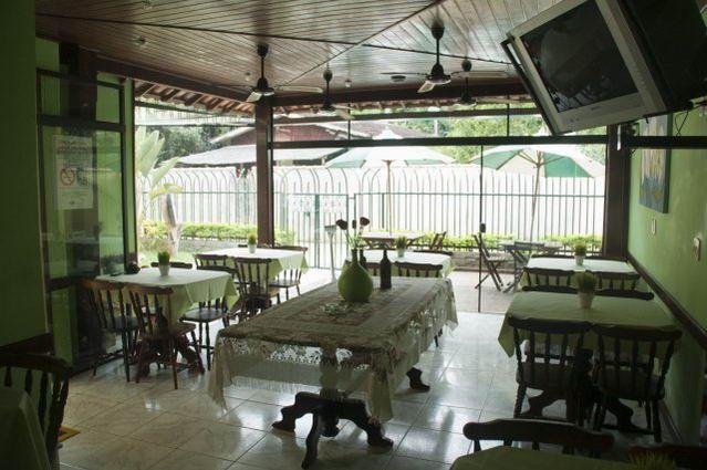 Foto de Pousada Porto Abraão em  Ilha Grande/RJ:  Salão de café.