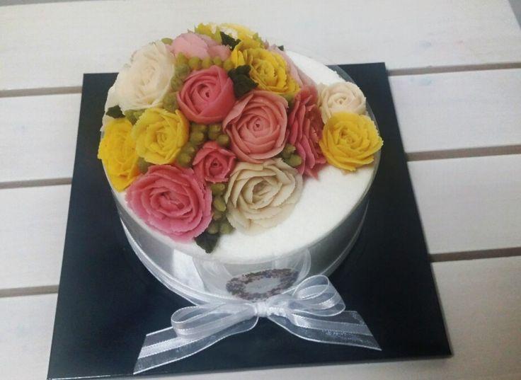 1호 장미 돔형변형 케이크