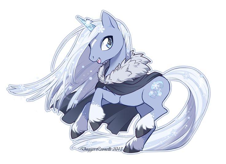 Elsa as a pony