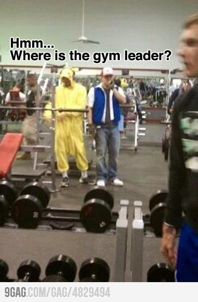 Where's the gym leader: Gotta Catch, Catch Ems, Nerd, Laughing, Pokemon Humor, Pokémon, Videos Games, Gym Leader, Funny Stuff
