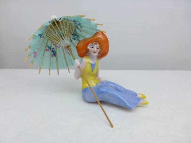 Figurita de porcelana original de los años 20. pyc1930@gmail.com.