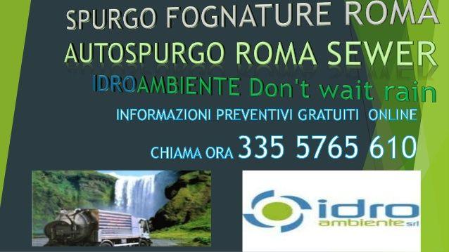 Spurgo Fognature 3355765610 A Rizzi Autospurgo Costo Spurgo