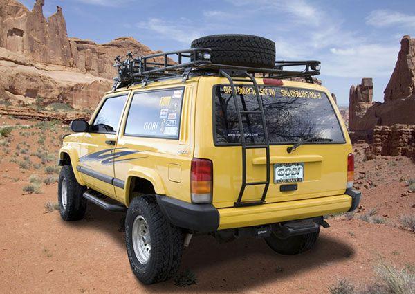 Gobi Jeep Cherokee Xj Ranger Tire Carrier Roof Rack