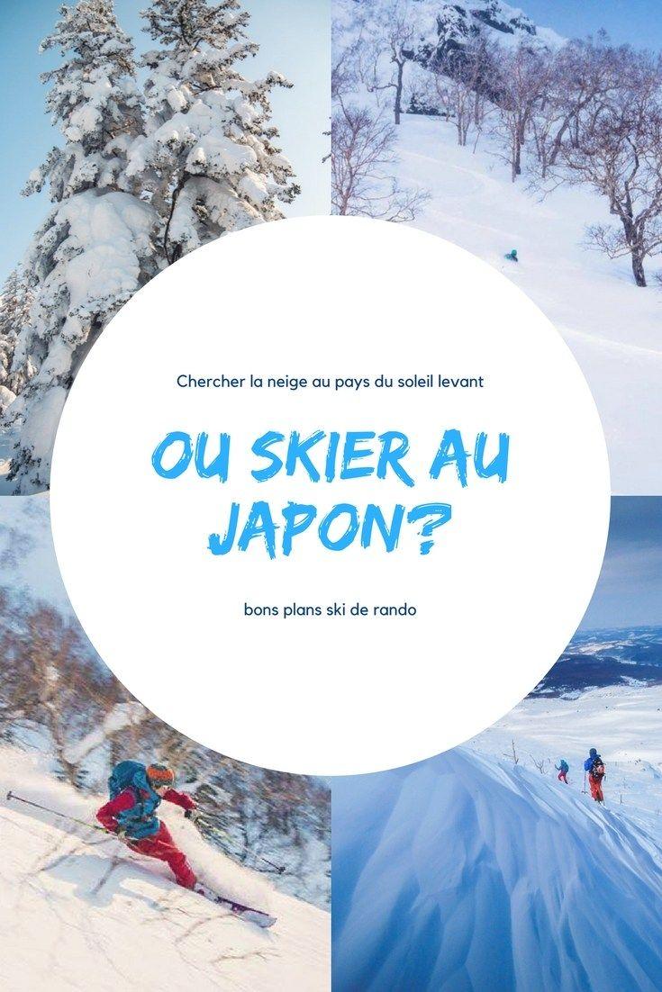 ou skier au japon en ski de randonnée? De retour de notre skitrip japonais, nous souhaitons partager avec vous nos bons plans de spots de ski de randonnée au Japon. Alors où skier au Japon? #japon #ski #skiderando #aventure #voyage #hokkaido #blog #skitrip #japan #hiver