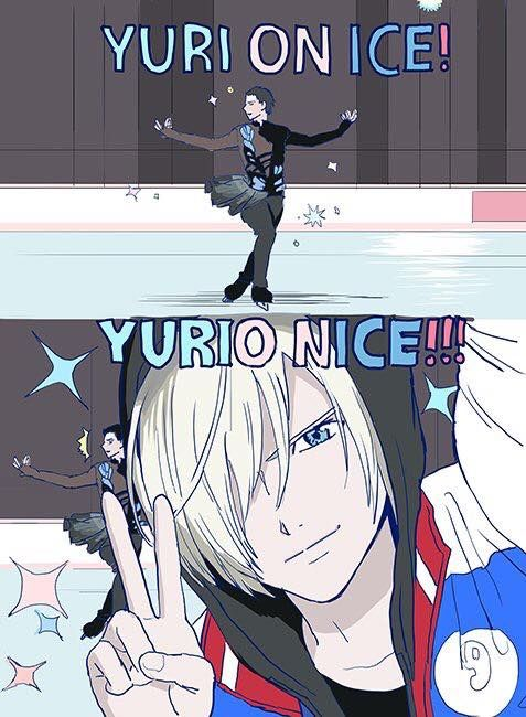 Das bedeutet es also wirklich eine verschlüsselte Nachricht wir sollen alle Yurio lieben