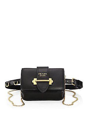 Prada Marsupio Leather Belt Bag