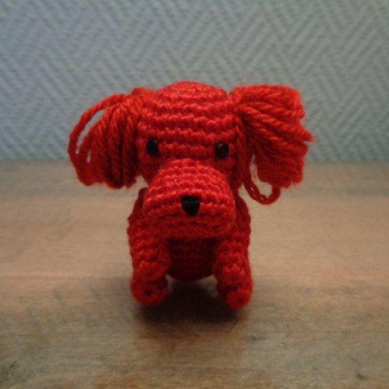 Cane rosso amigurumi 3