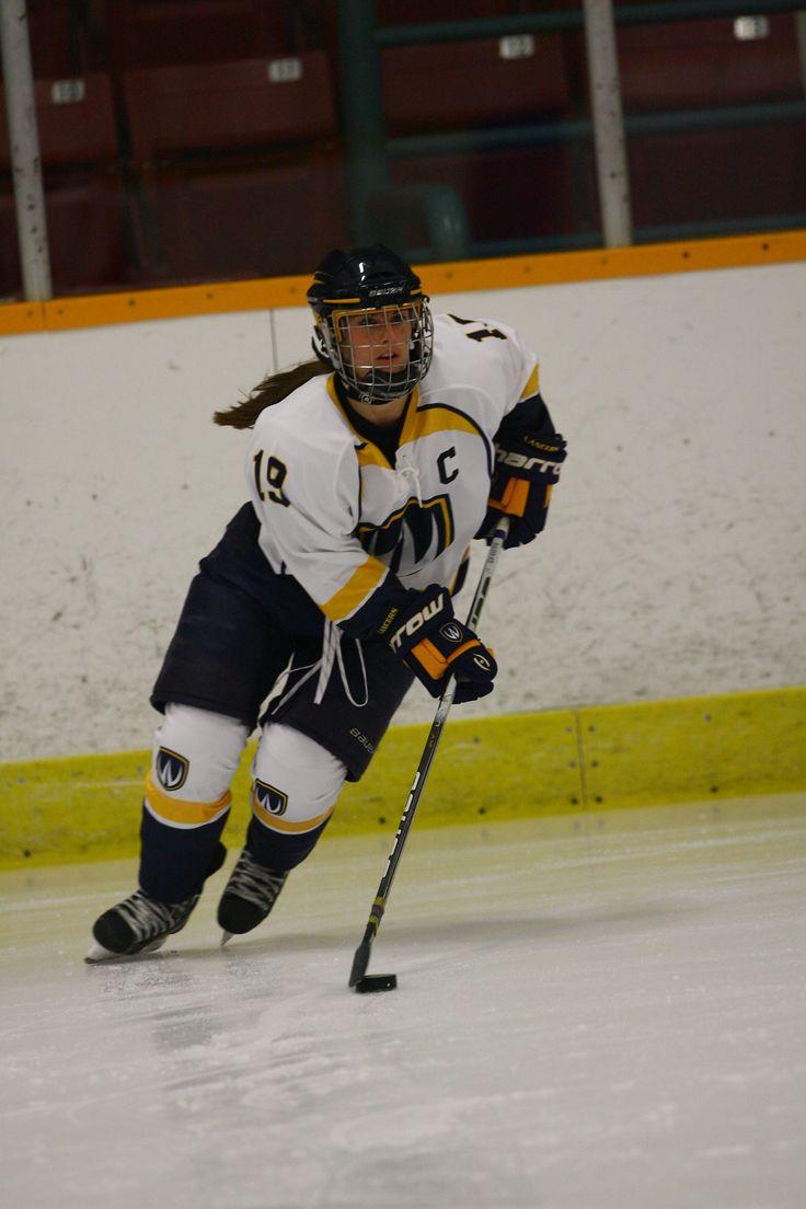 Alyssa Baldin, 2012-13 Women's Hockey, Credit: Edwin Tam