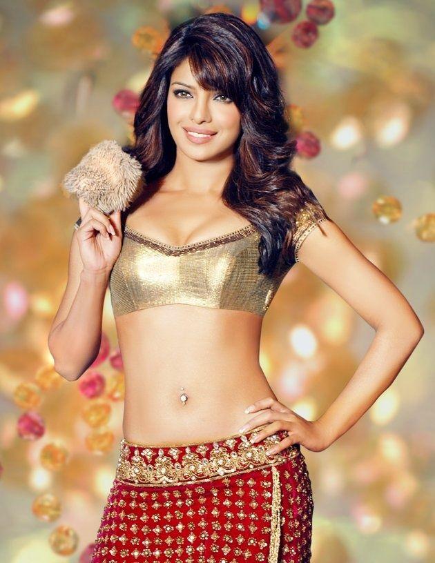 Priyanka Chopra -- love the gold and red