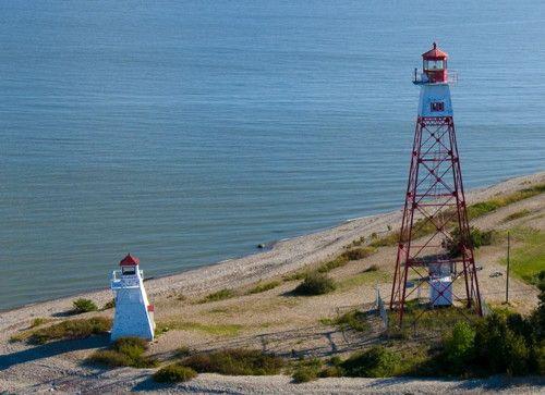 Red River Range Front Light, Lake Winnipeg