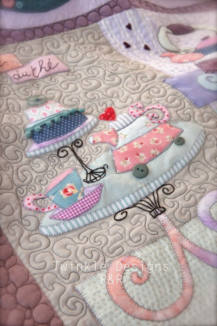 Sweet Mystery Quilt - Twinkle Designs R&R - pattern