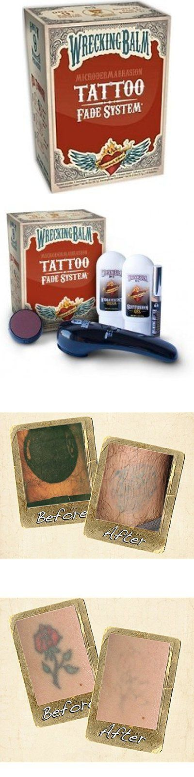 Tattoo Removal - Tattoo Removal Machines: Wrecking Aftercare Products Balm Tattoo Fade System -> BUY IT NOW ONLY: $45.49 on eBay! - Quick and Easy Natural Methods & Secrets to Eliminating the Unwanted Tattoo That You've Been Regretting for a Long Time #tattooremovalproducts