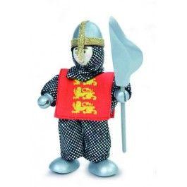 Le toy van Leon. Hij is een ridder in opleiding.