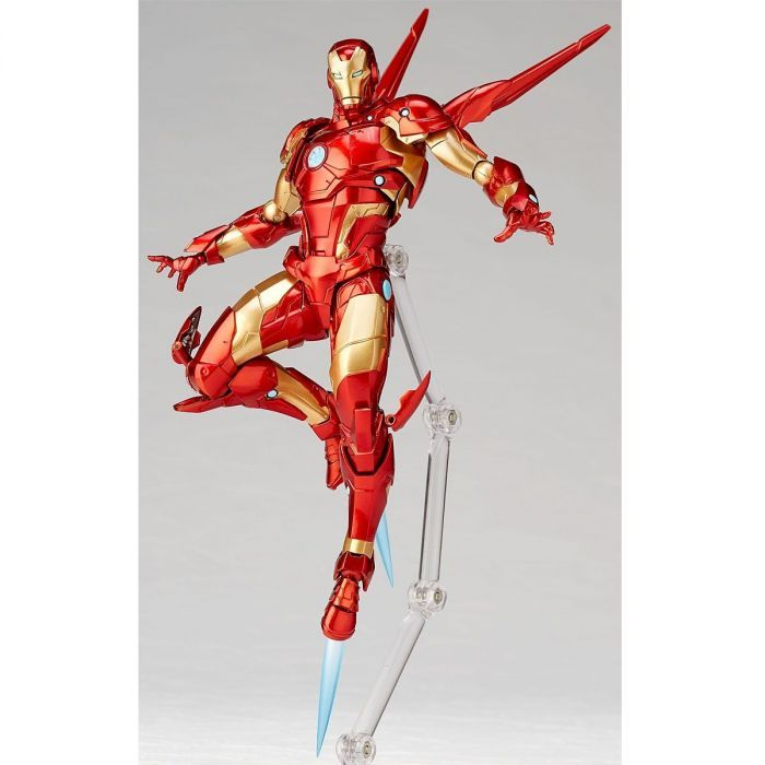 Amazing Yamaguchi No 013 Iron Man Bleeding Edge Armor By Kaiyodo Iron Man Bleeding Edge Iron Man Action Figures Iron Man
