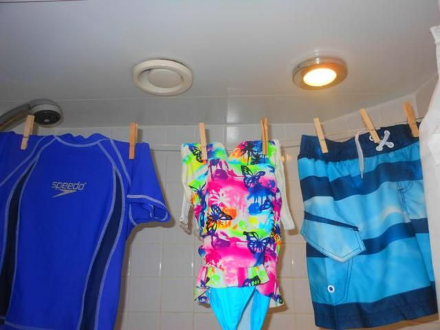 11 Clever Cruise Hacks Seen on Pinterest: Use clothespins to hang wet swimsuits #cruisehacks #packingtips