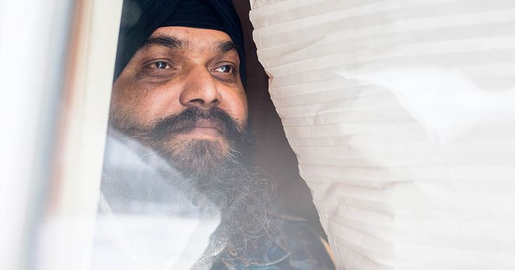 America's Gun Violence Epidemic | Santokh Singh, a Granthi (reader of sacred scriptures) at a Sikh Temple in Oak Creek, Wisconsin survived a shooting there in August 2012.