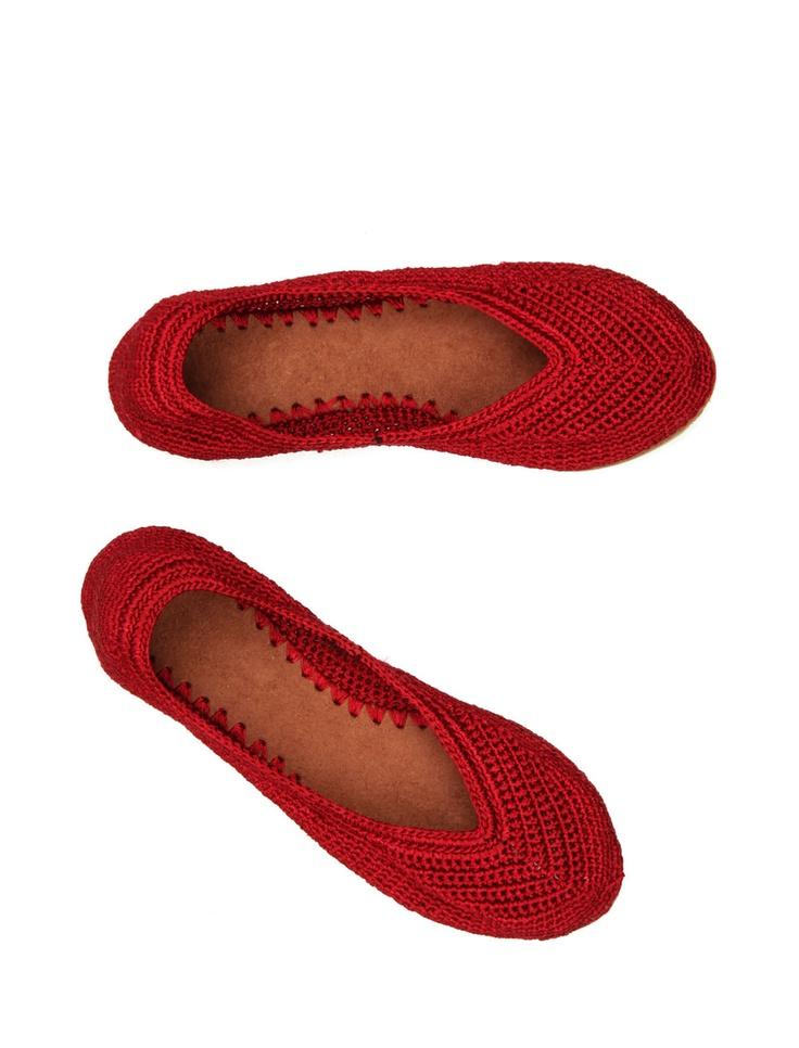 RASPBERRY LEMONADE #crochet #shoes