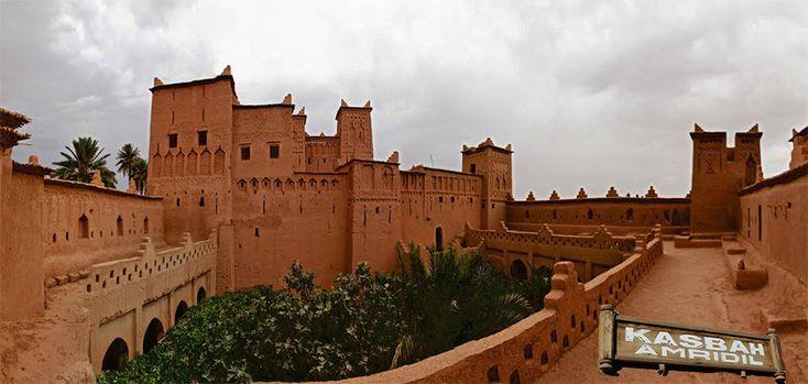 Dopo l'Oasi di #Skoura, oggi vi parlo della #Kasbah #Amridil la più ammirata del #Marocco