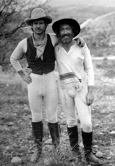 Harrison Ford & Gene Wilder from The Frisco Kid.  I am dyin' over here! lol!