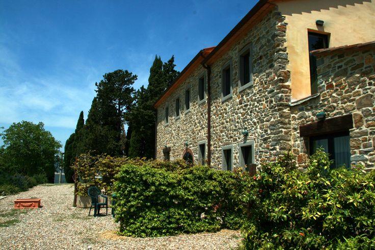 Villa Poggio dei Cipressi #Tuscany #Landscape near #Arezzo in #Casentino region