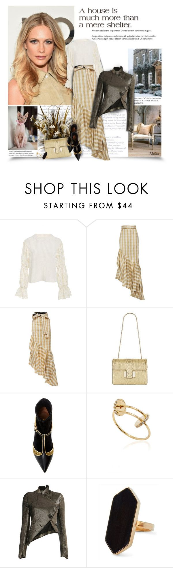 """Dressing Is A Way Of Life"" by thewondersoffashion ❤ liked on Polyvore featuring Michael Kors, Sea, New York, Johanna Ortiz, Tom Ford, Malone Souliers, Delfina Delettrez, Ann Demeulemeester and Jaeger"