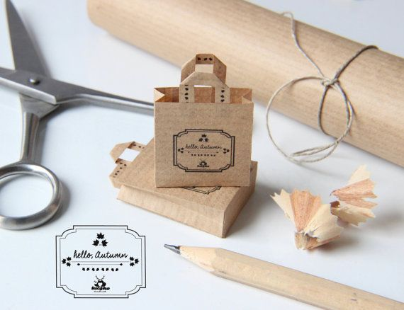Dollhouse Miniature Accessories Set of 2 paper by KiczkoHandmade