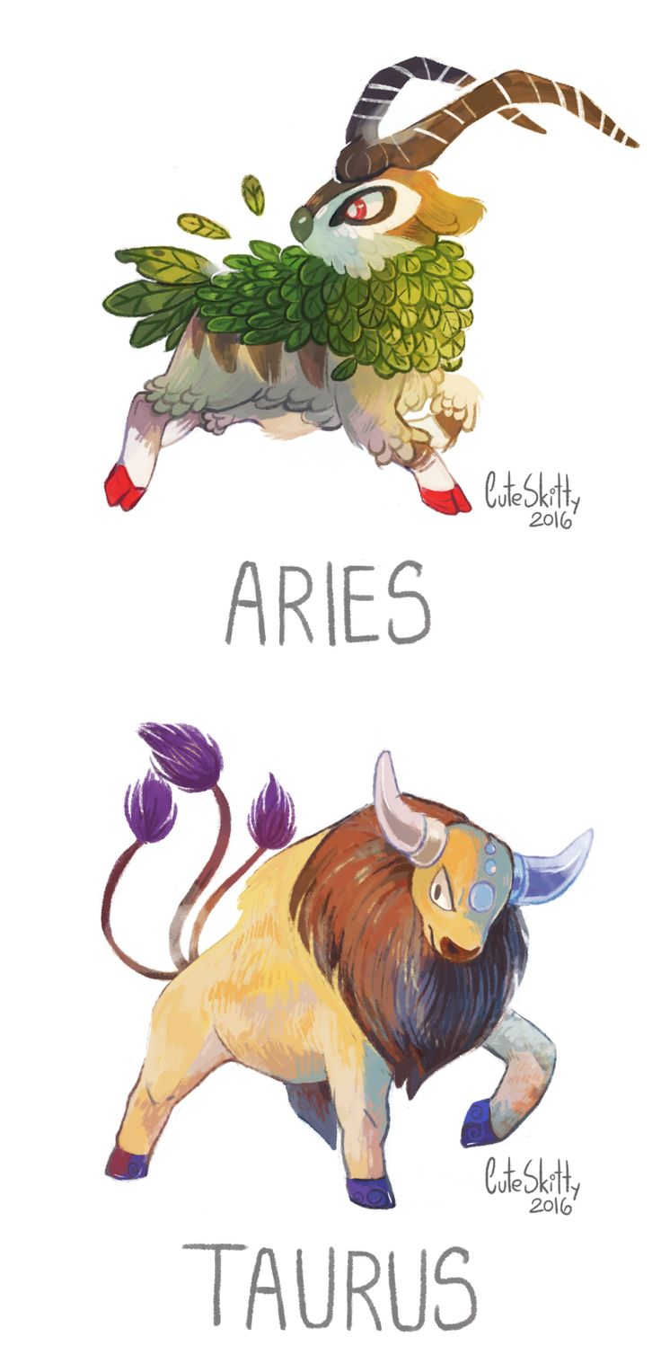 Pokémon as zodiac signs.