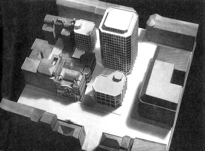 Tom Grieve & Hana Loftus' inspiration: the Smithsons' Economist Plaza