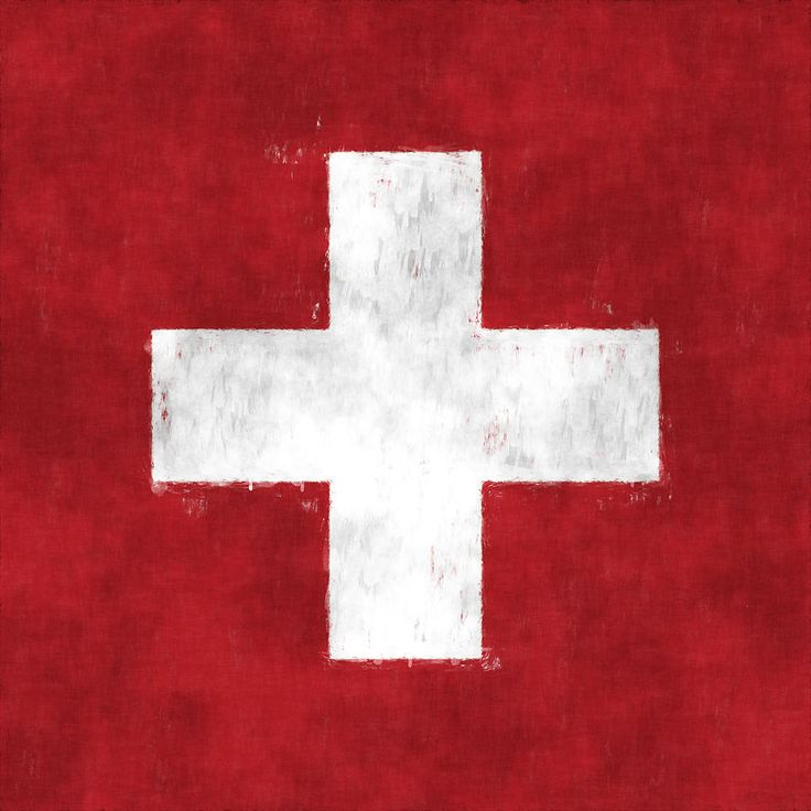 Switzerland Flag Digital Art by World Art Prints And Designs