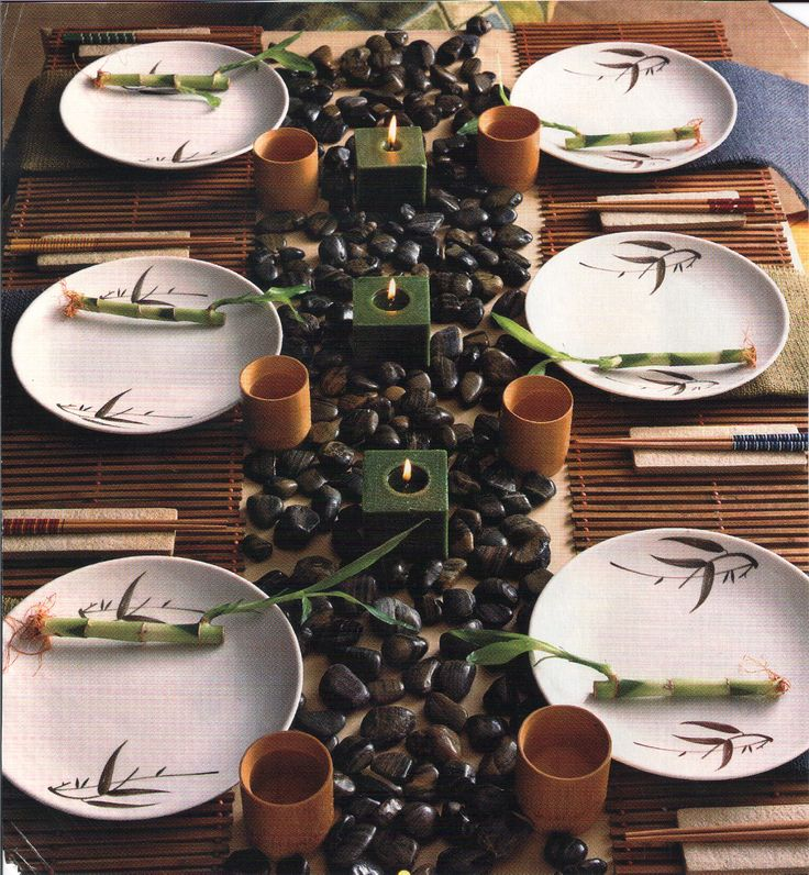 Asian Themed Table-top