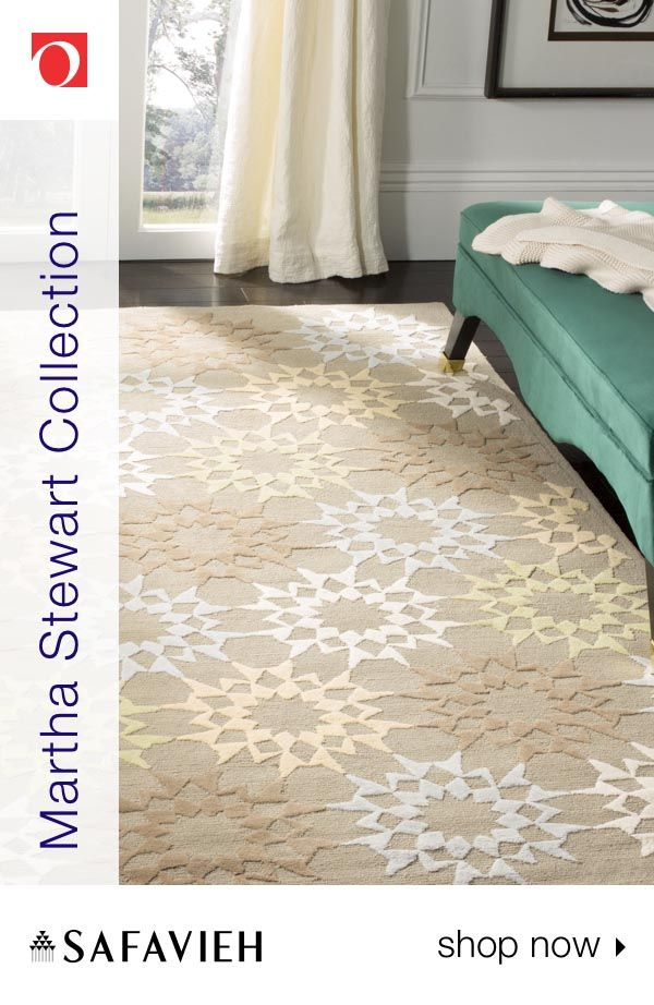 Find The Perfect Area Rug For Your Space With The Martha Stewart Collection By Safavieh On Overstock Com This Collection Of Rugs Offers A Huge Varie With Images Houzz Decor
