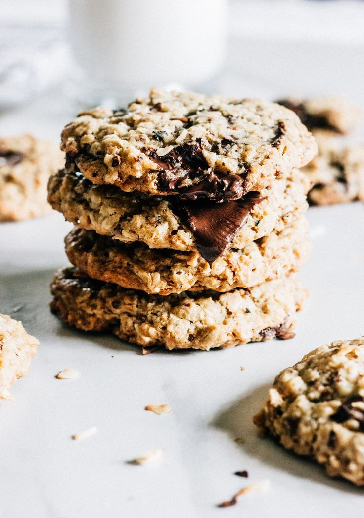 chocolate chunk oatmeal cookies coconut chocolate chip cookies oatmeal ...