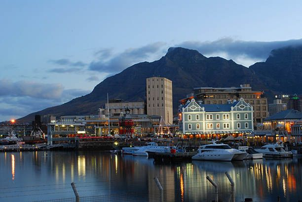 V&A Waterfront evening reflections