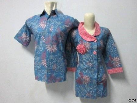 Kemeja Batik C74 | IDR 120.000 | bahan : Katun | Size M, L, XL | Order : 081333303545