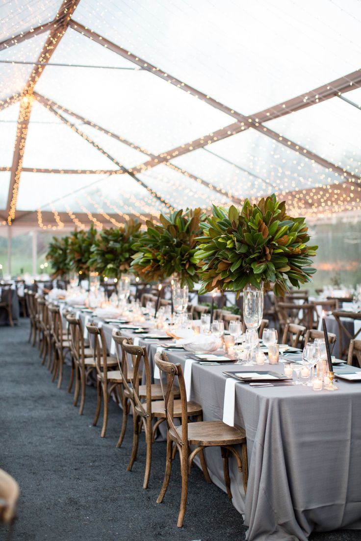 Greenery wedding centerpieces: Photography: Natalie Probst - http://natalieprobst.com/