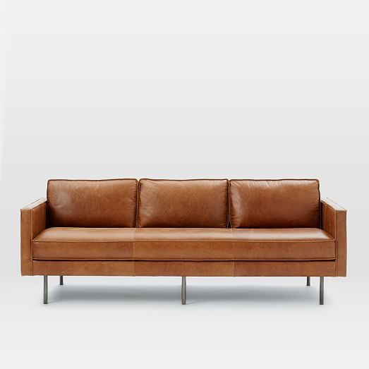 Axel Leather Sofa | west elm ($1700 - $2300)