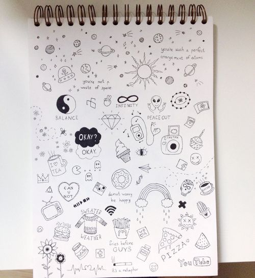 69 best images about drawing ideas on pinterest we heart for Random cute drawings